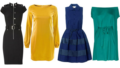 как подобрать правильную одежду - платья